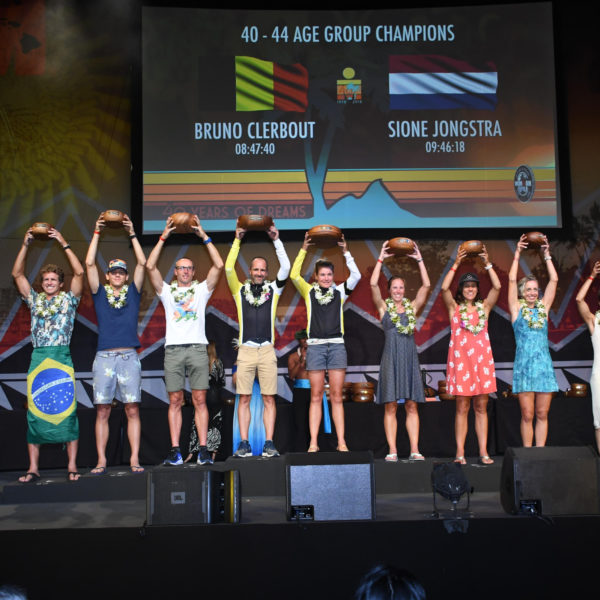 2018 Ironman WC Podium